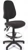 Juno High Back Draughtsman Chair - Charcoal