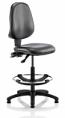 Eclipse 2 Vinyl Draughtsman Chair