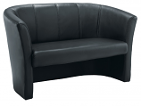 Tub Sofa Leather Look