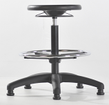 High Polyurethane Lab Stool
