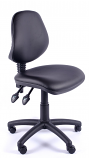 Juno Vinyl Medium Back Operator Chair