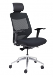 Vogue Mesh Back Office Chair with Headrest