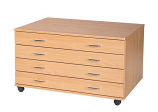 4 Drawer A1 Planchest