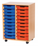 20 Tray Double Storage Unit