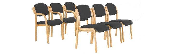 Renoir Meeting Chairs - Black