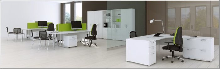 Phoenix White Office Furniture