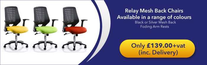 Relay Mesh Office Chairs