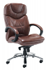 Nevada Executive Leather Chair - Brown
