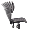 Bude Polyurethane Draughtsman Chair - Back Adjustment