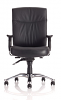 Marathon Leather 24 Hour Chair - Front