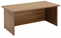 Regent Standard Executive Desk Dark Walnut Finish