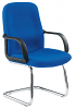 Canasta Fabric Visitor Chair Chrome Base