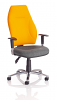 Posture High Back Office Chair with Chrome Base and Arms