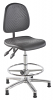 Deluxe Polyurethane ESD Conductive Draughtsman Chair