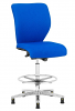 E-Tek M14 ESD Draughtsman Chair Blue