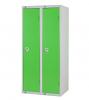 Single Door Locker - Nest of 2 Green