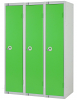 Single Door Locker - Nest of 3 Green