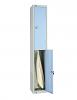 Two Door Storage Locker - Pastel Blue