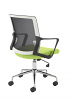 Vogue Compact Mesh Back Office Chair - Back Angle