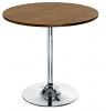 Ellipse Trumpet Base Table - Walnut