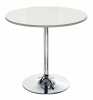 Ellipse Trumpet Base Table - White