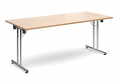 Deluxe 1800mm Folding Meeting Table Beech