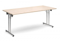 Deluxe 1800mm Folding Meeting Table Maple