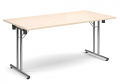 Deluxe 1600mm Folding Meeting Table Maple