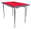 Premier Folding Table Red