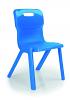 Titan One Piece Chair Blue