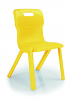 Titan One Piece Chair Yellow