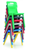 Titan One Piece Chair Stacking