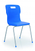 Titan 4 Leg Chair Blue