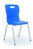 Titan 4 Leg Chair Blue
