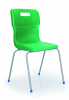 Titan 4 Leg Chair Green