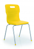 Titan 4 Leg Chair Yellow