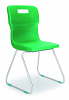 Titan Skid Chair Green