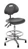 Polyurethane ESD Conductive Draughtsman Chair