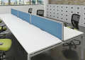 Adapt II 1200mm Bench Desk Screen Cluster