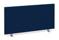 800mm Desk Screen - Blue