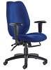 Cornwall Operator Chair - Blue