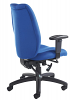 Cornwall Operator Chair - Blue- Back