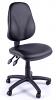 Juno Vinyl High Back Operator Chair - Black