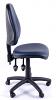 Juno Vinyl High Back Operator Chair - Dark Blue - Side