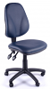 Juno Vinyl High Back Operator Chair - Dark Blue