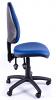 Juno Vinyl High Back Operator Chair - Light Blue - Side