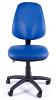 Juno Vinyl High Back Operator Chair - Light Blue - Front