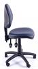 Juno Vinyl Medium Back Operator Chair - Dark Blue - Side
