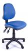 Juno Vinyl Medium Back Operator Chair - Light Blue
