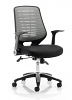 Relay Airmesh Office Chair Silver